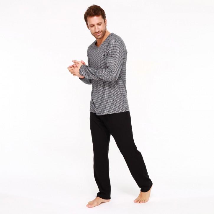 HOM Aurélien Pyjama (100% Baumwolle)