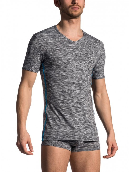 Olaf Benz RED1707 V-Shirt regular cinder (84% Polyamid, 16% Elasthan)