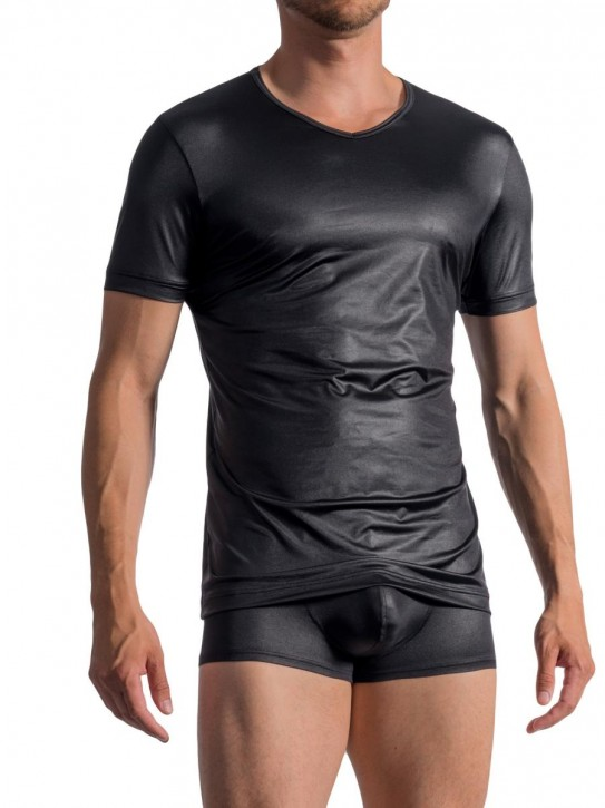 Olaf Benz RED1763 V-Shirt black (89% Polyamid, 11% Elasthan)