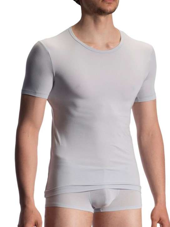 Olaf Benz RED1915 T-Shirt light grey (90% Modal, 10% Elasthan)