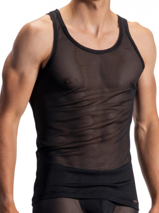 Olaf Benz RED1964 Sportshirt black (92% Polyamid, 8% Elasthan)