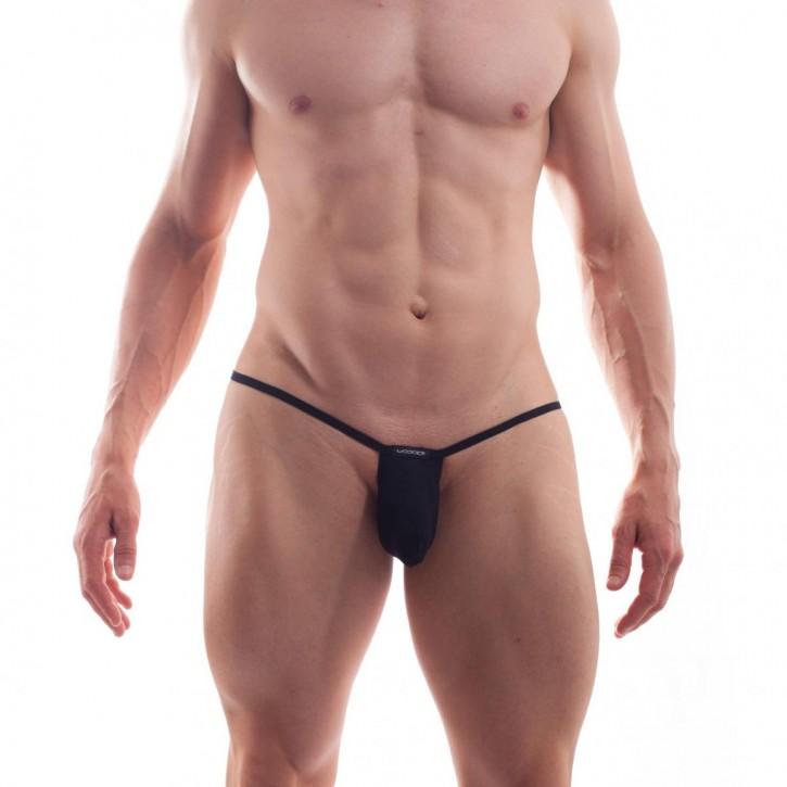 WOJOER BEUN Minisock-String black (82% Polyamid, 18% Elasthan)