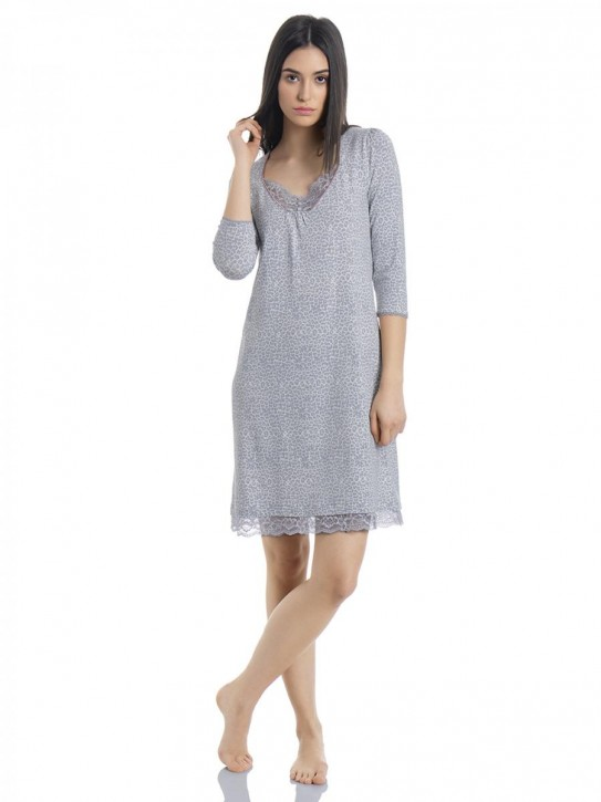 VIVE MARIA Lovely Leo Nightdress (47% Baumwolle, 47% Modal, 6% Elasthan)