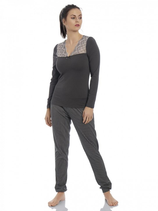 VIVE MARIA French Look Pyjama (47% Baumwolle, 47% Modal, 6% Elasthan)