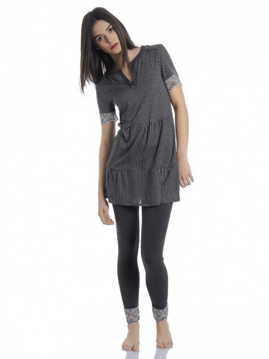 VIVE MARIA French Girl Pyjama (47% Baumwolle, 47% Modal, 6% Elasthan)