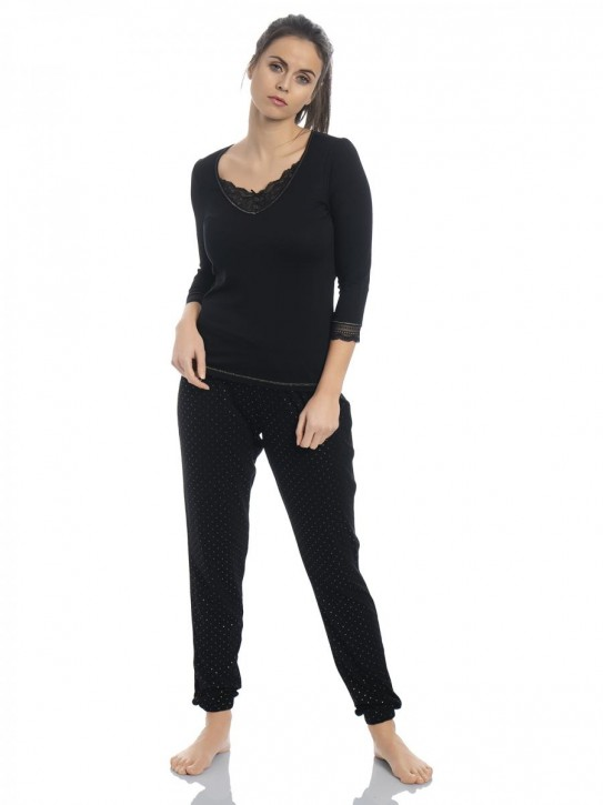 VIVE MARIA Glamour Night Pyjama (94% Viskose, 6% Elasthan)