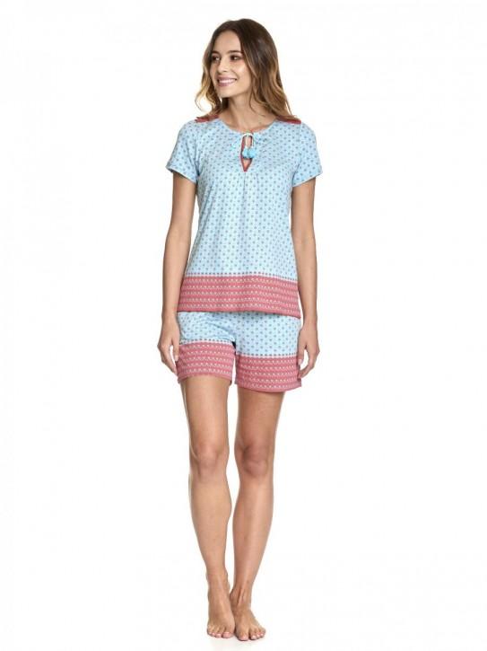 VIVE MARIA Voyage Short Pyjama türkis (50% Baumwolle, 50% Modal)