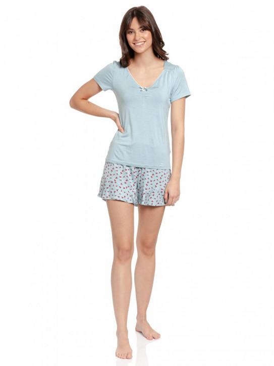 VIVE MARIA Cherry Bomb Short Pyjama (95% Viskose, 5% Elasthan)