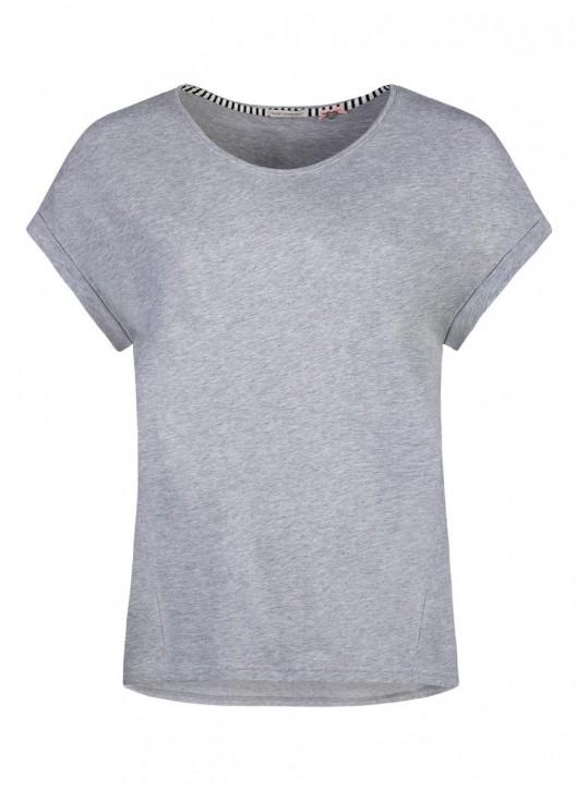 SHORT STORIES 620752 Shirt graumelange (100% Baumwolle)