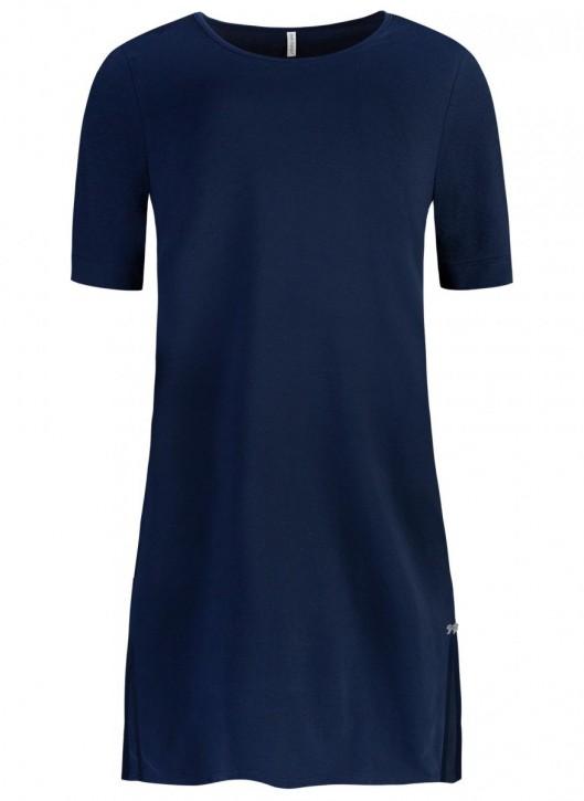 SHORT STORIES 620899 Sleepshirt lang blau (93% Baumwolle, 7% Elasthan)