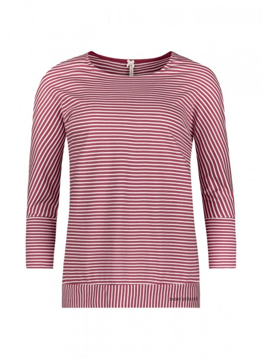 SHORT STORIES 620977 Shirt rot/stripes (100% Baumwolle)