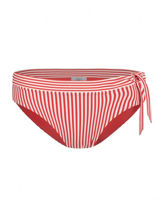 SHORT STORIES 650391 Bikinislip rot/stripes (73% Polyamid, 27% Elasthan)