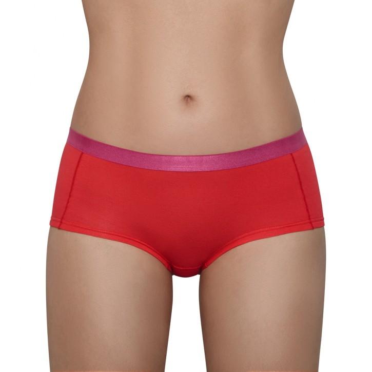 AIKYOU JODIE Panty rot/pink (92% Baumwolle, 8% Elasthan)