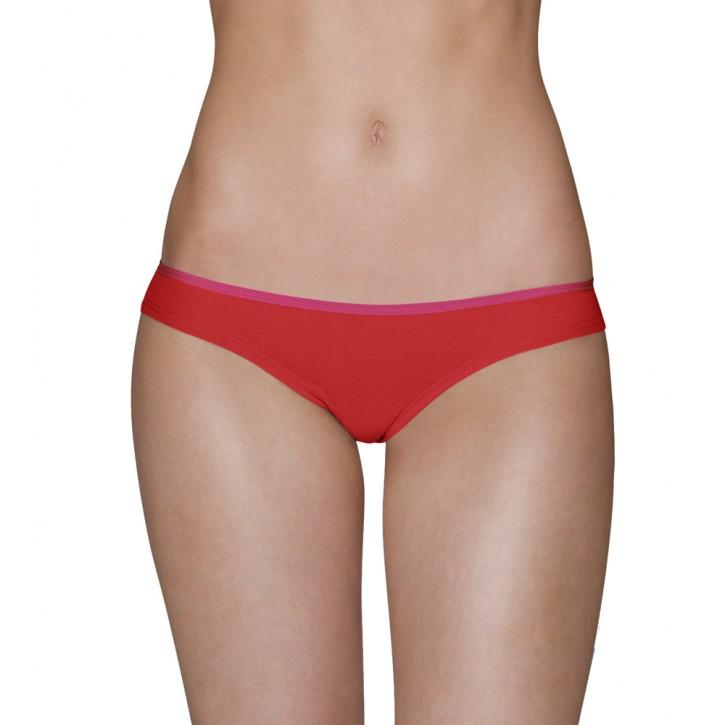 AIKYOU NANA String rot/pink (92% Baumwolle, 8% Elasthan)