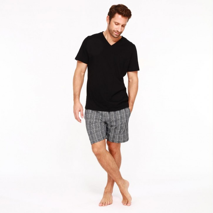 HOM Benjamin Short Pyjama (100% Baumwolle)