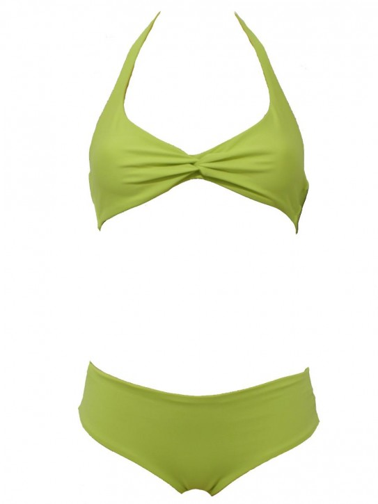 WASSERSTOFF Bikini Twisted True Love apio-pompelmo (80% Polyamid, 20% Elasthan)