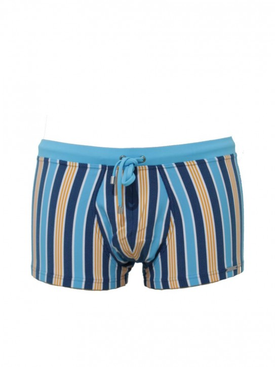 WASSERSTOFF Pant Stripes blue-white-or-(cianico) (88% Polyamid, 12% Elasthan)