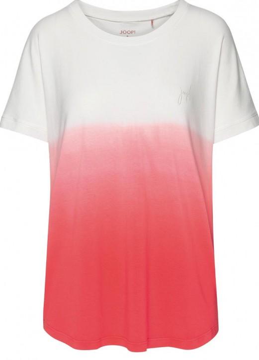 JOOP! Soft Pop T-Shirt ecru/hot coral (47% Baumwolle, 47% Modal, 6% Elasthan)
