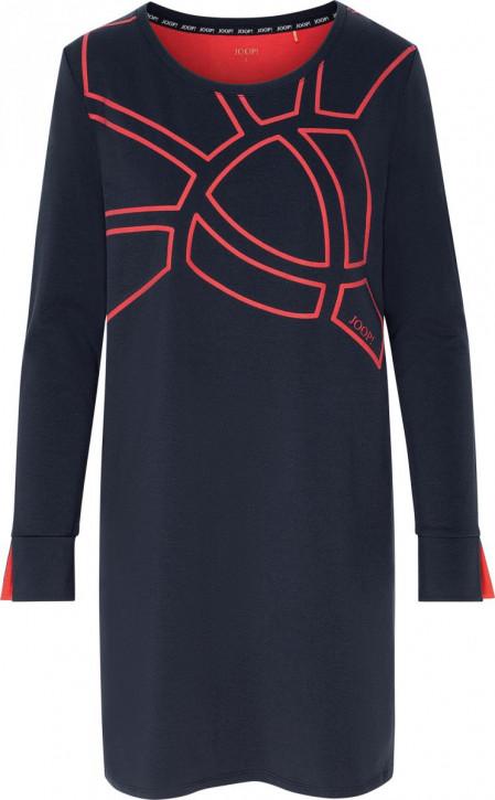 JOOP! Urban Perfection Big Shirt midnight/aphrodite red (95% Baumwolle, 5% Elasthan)