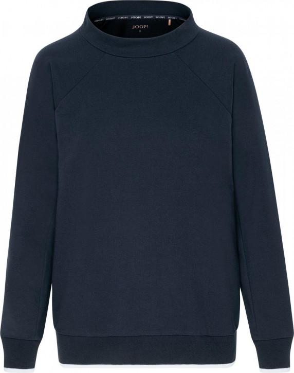 JOOP! Sporty Elegance Langarm Shirt midnight (94% Lyocell, 6% Elasthan)