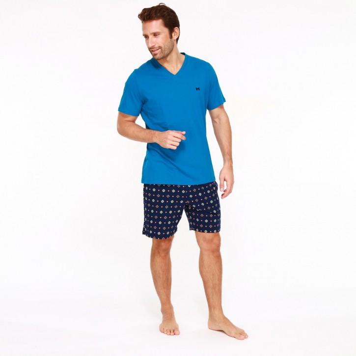 HOM Marius Short Pyjama (100% Baumwolle)