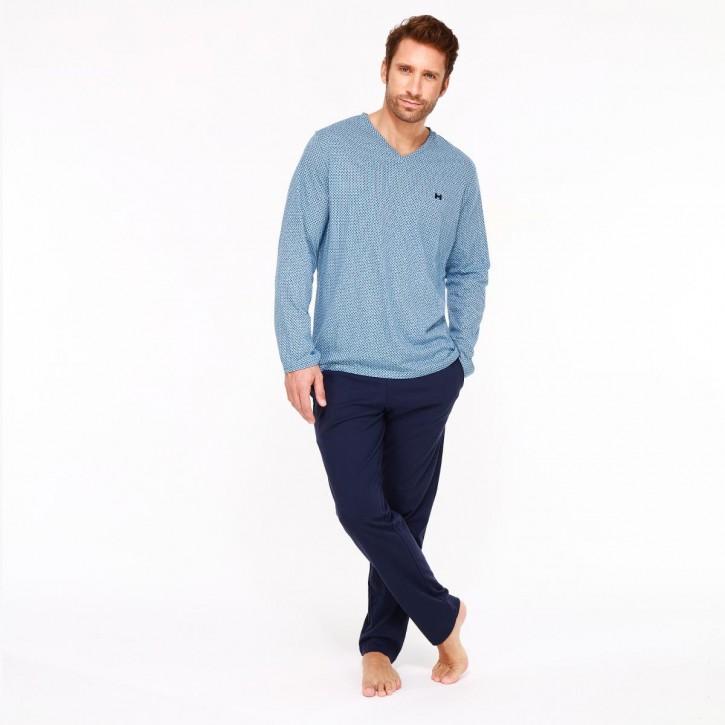 HOM Mathieu Pyjama (100% Baumwolle)