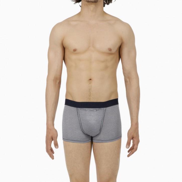 HOM HO1 SIMON Boxer navy (51% Modal, 38% Polyester, 11% Elasthan)