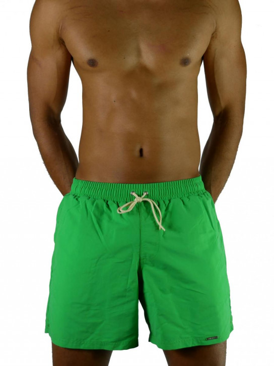 WASSERSTOFF Basic Short Solid apple green (100% Polyester)