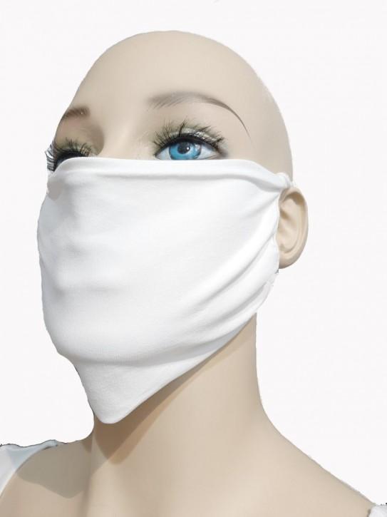 Mund-Nase-Maske von Trasparenze, weiß, 95% Polyamid, 5% Elasthan (Q-Skin®)