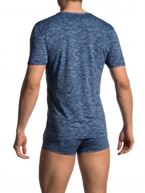 Olaf Benz RED1707 V-Shirt regular river (84% Polyamid, 16% Elasthan) XL