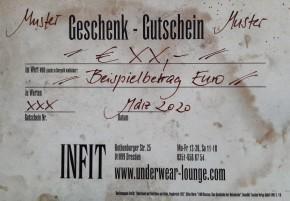 Gutschein 2020 50€