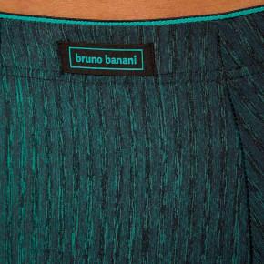 bruno banani Predator Short grün/schwarz print (49% Polyamid, 37% Polyester, 14% Elasthan) L