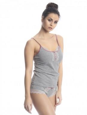 VIVE MARIA Gray Dawn Set (47% Baumwolle, 47% Modal, 6% Elasthan) S