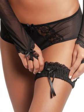 VIVE MARIA Sweet Black Accessoirs Set (90% Baumwolle, 10% Elasthan; 100% Polyester) S