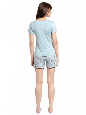 VIVE MARIA Cherry Bomb Short Pyjama (95% Viskose, 5% Elasthan) S