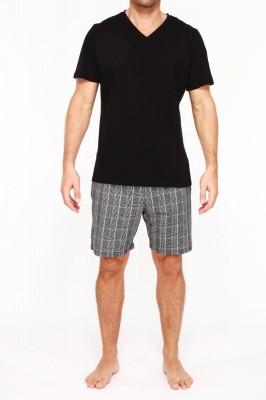 HOM Benjamin Short Pyjama (100% Baumwolle) M