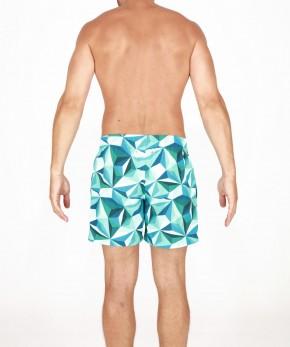 HOM Diamant Beach Boxer grün (100% Polyamid) M