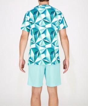 HOM Diamant Pyjama grün (100% Baumwolle) M
