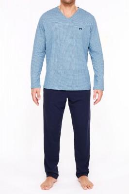 HOM Mathieu Pyjama (100% Baumwolle) L