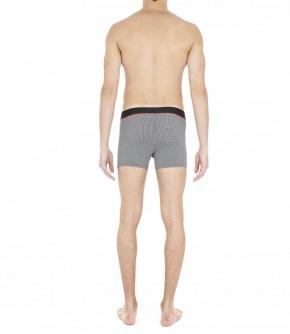 HOM Vichy Boxer schwarz/weiß (48% Polyester, 42% Modal, 10% Elasthan) S