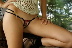 LOLA LUNA Gaia Micro String onesize (80% Polyamid, 20% Elasthan)